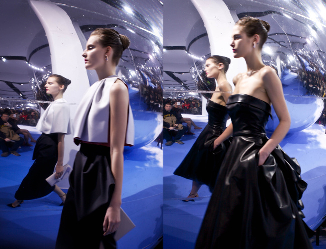 Dior fashion show paris