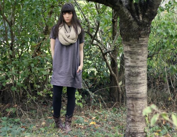 Outifit h&m scarf