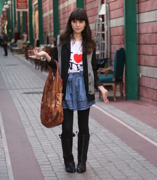 Outfit puces saint ouen