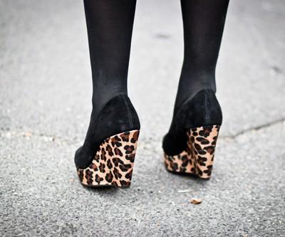 asos leopard shoes